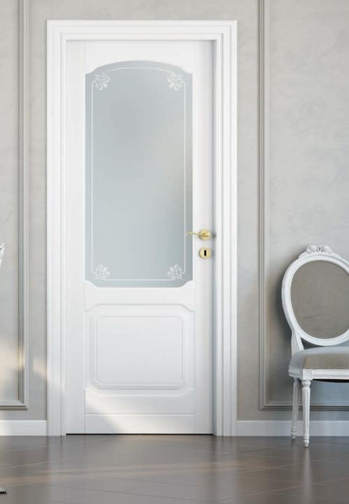 Ar 305v laccato bianco gruppo orvi serramenti for Orvi porte roma