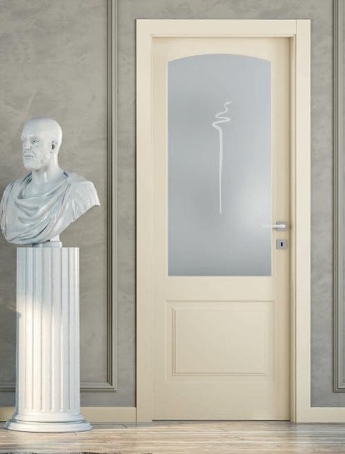 Porte laccate classiche e moderne scopri colori prezzi e - Porte laccate avorio ...