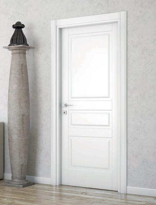 Ri 205c laccato bianco gruppo orvi serramenti - Porte laccate avorio ...