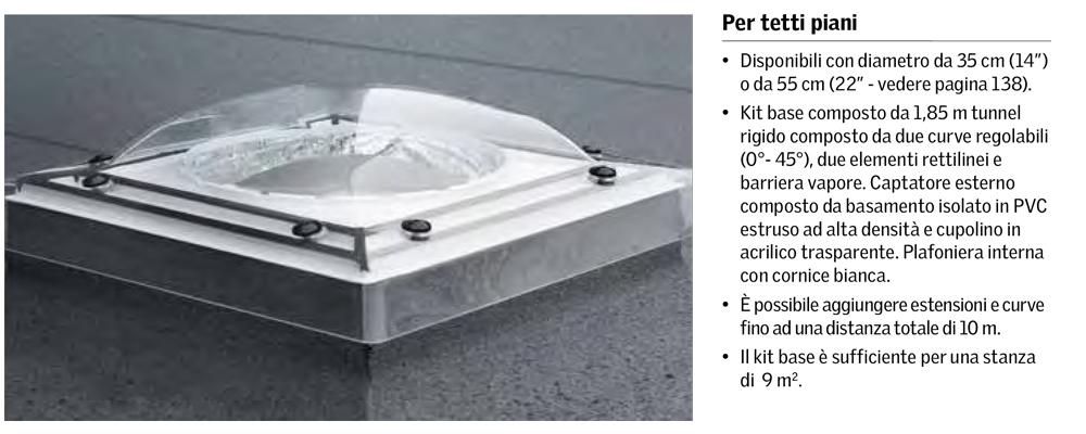 Lucernario tetto piano for Infissi velux prezzi