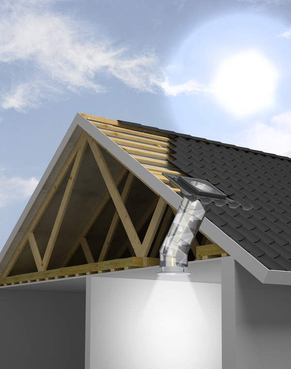 Tunnel solare Velux, finestre da tetto