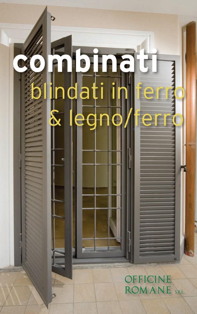 Combinati grata e persiana in ferro di sicurezza antieffrazione gruppo orvi serramenti - Costo grate finestre roma ...