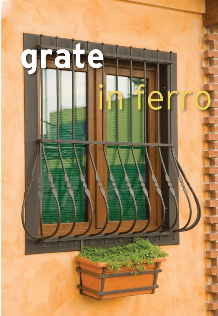 GRATE, PERSIANE IN FERRO, ORVI