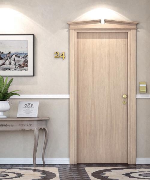 Le porte tagliafuoco da hotel di Orvi Serramenti