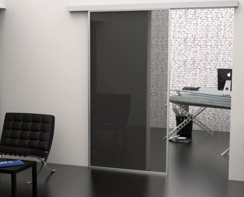 Arredare con il vetro decori e sabbiature gruppo orvi - Porte invisibili scorrevoli ...