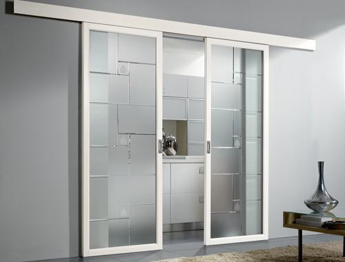 Porte scorrevoli su mantovana gruppo orvi serramenti - Porta scorrevole vetro prezzo ...