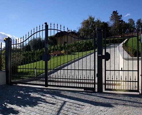 Cancelli e recinzioni orvi su misura for Orvi infissi