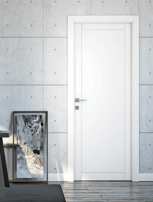 Porta Laccata Bianca Mod. 406C - Gruppo Orvi Serramenti