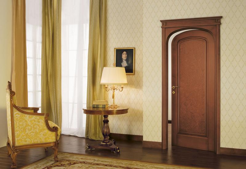 Porta da interno massello di alder collezione le radiche for Orvi infissi