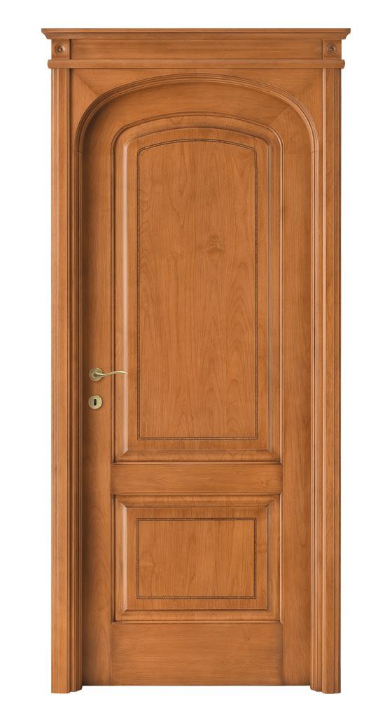 Quando Il Design Rende Unica La Porta : Porta da interno massello di alder collezione intarsio