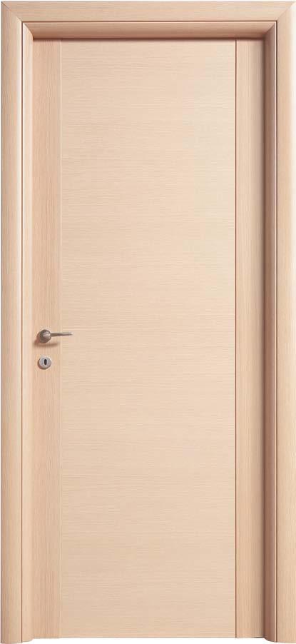 Porta liscia in laminato mod linear gruppo orvi serramenti - Porta rovere sbiancato ...