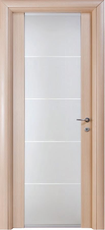 Porta liscia in laminato mod linear gruppo orvi serramenti - Porta bianca laminato ...