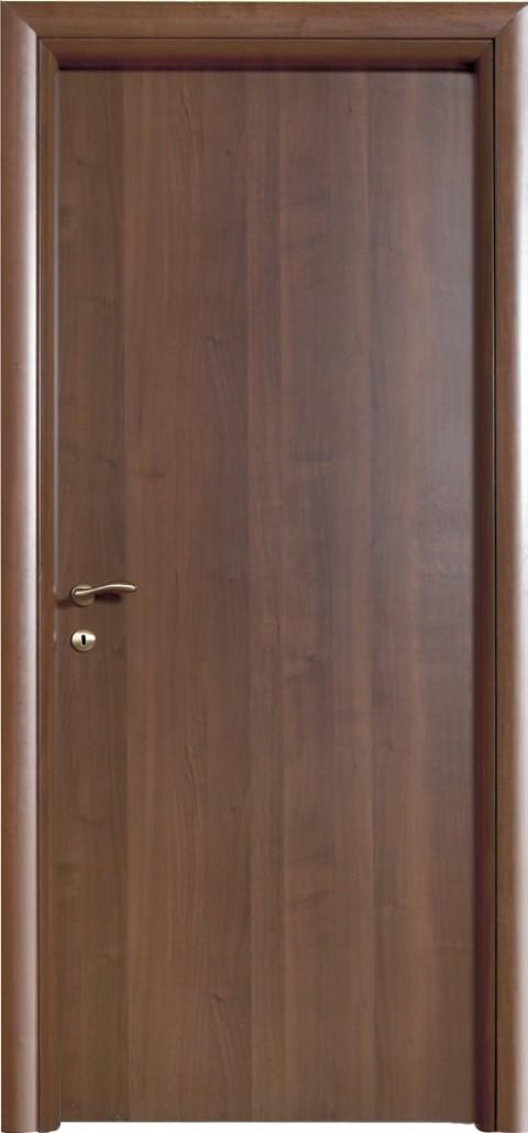 Porta liscia simply laminato wenge chiaro gruppo - Porte noce chiaro ...
