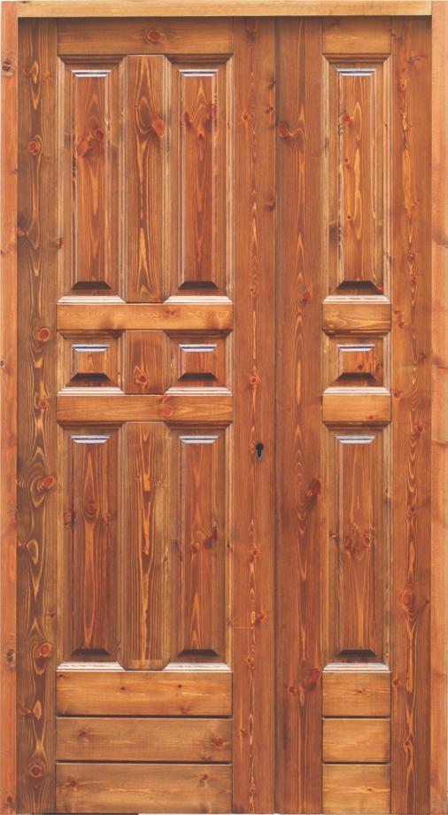 Portone in massello di legno gruppo orvi serramenti for Orvi porte roma