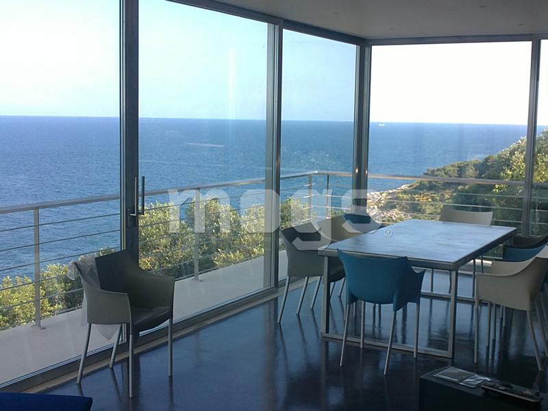 Vivere il balcone ed il terrazzo serra solare mogs in - Finestre alluminio anodizzato ...