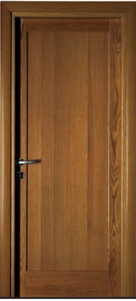 Porta in massello di rovere orvi serramenti roma - Verniciare porte interne laminato ...