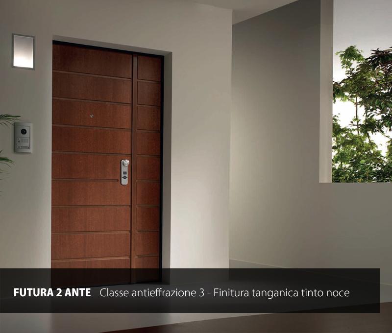 Portoncini Blindati Due Ante.Porta Blindata Modello Futura A 2 Ante Gruppo Orvi Serramenti