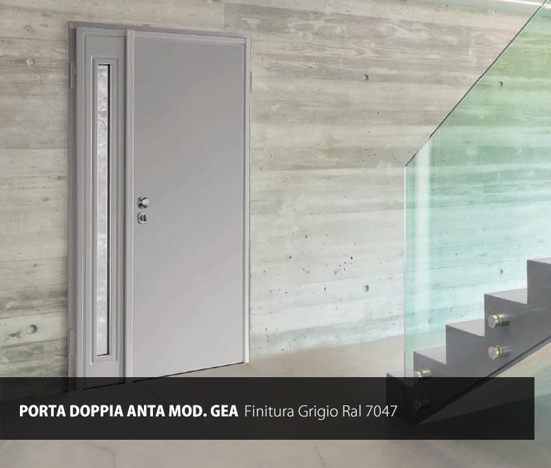 Porta blindata doppia anta mod gea gruppo orvi serramenti for Porta doppia anta