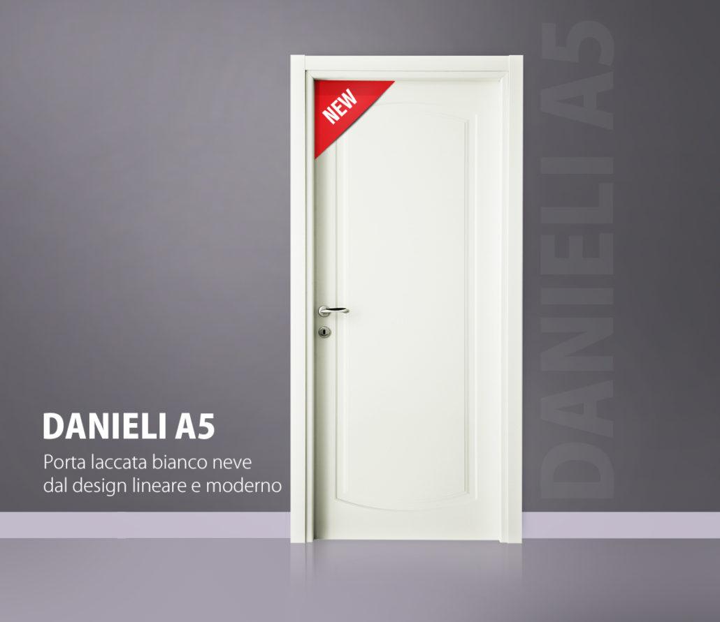 Porta Danieli A5 laccata bianco neve