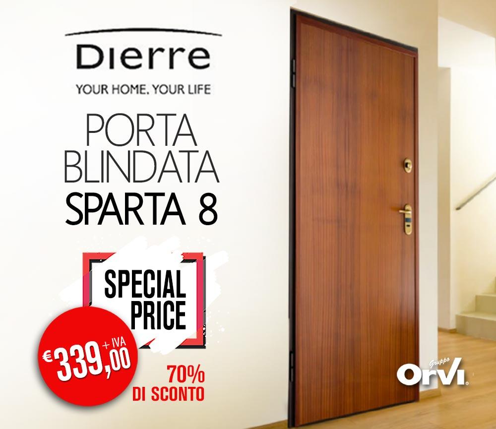 Portone Blindato Dierre Sparta 8 | Pronta consegna € 339,00 | Orvi ...