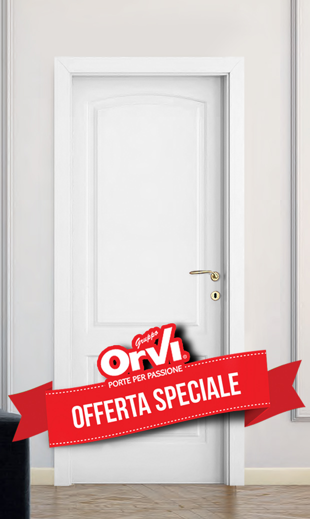 Offerta porta laccata bianca bronzo 5