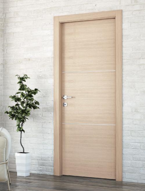 Le porte da interno in Rovere Sbiancato di Orvi Serramenti