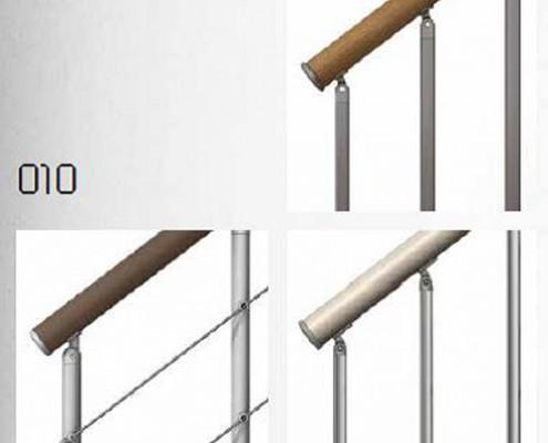 Fontanot: ringhiere per scale in muratura