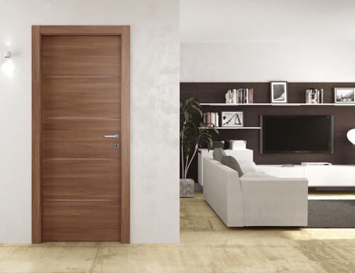 Porta in melaminico moderna da interno. Mod. XILO-4