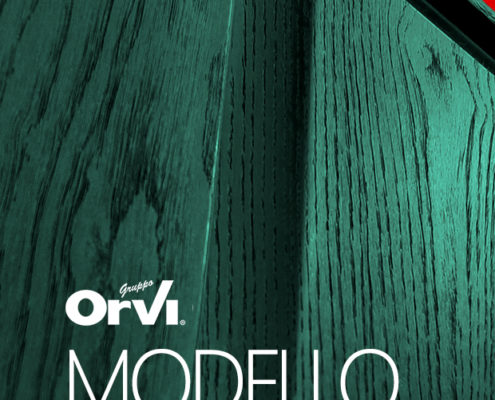 Pannello porta blindata modello Trieste