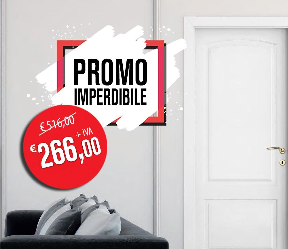 Offerta porta laccata bianca modello bronzo 5 a Euro 266,00