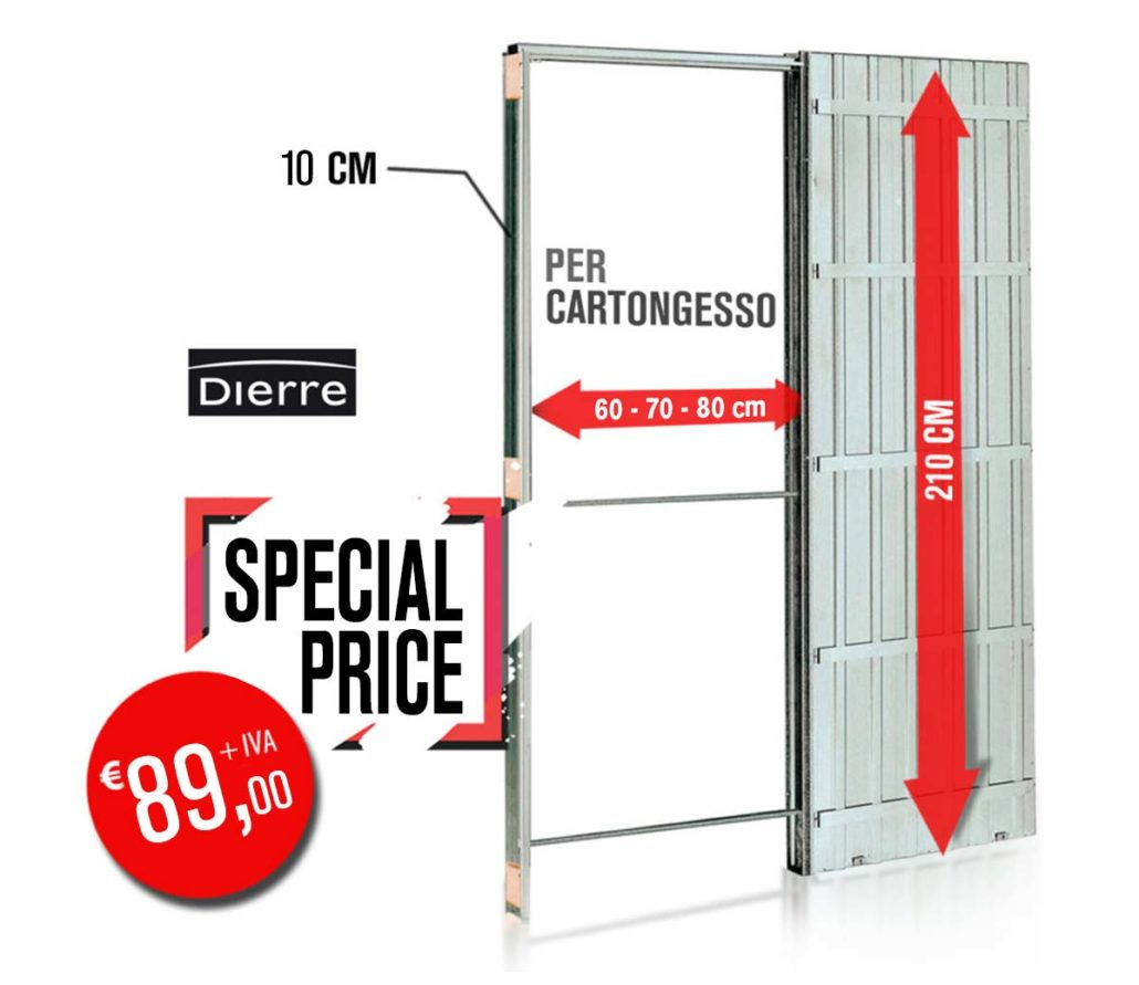 Cassonetto in cartongesso Dierre Euro 89,00 + IVA