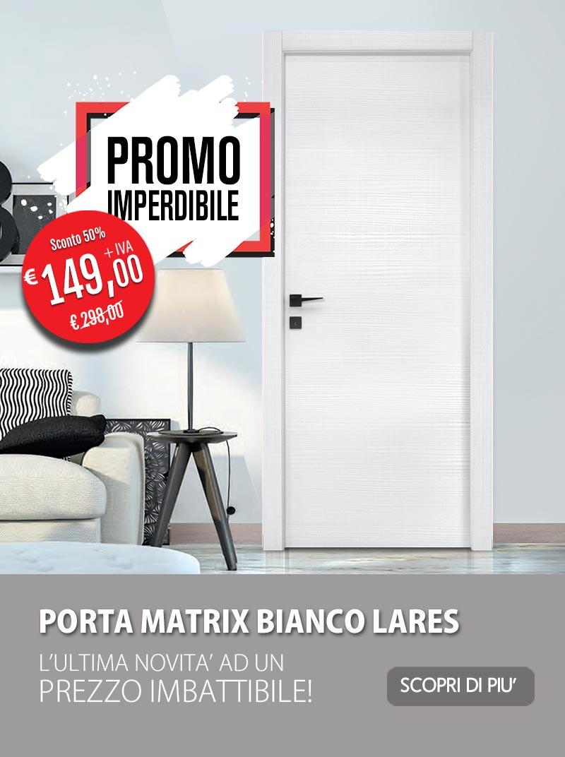 Promo matrix bianco lares