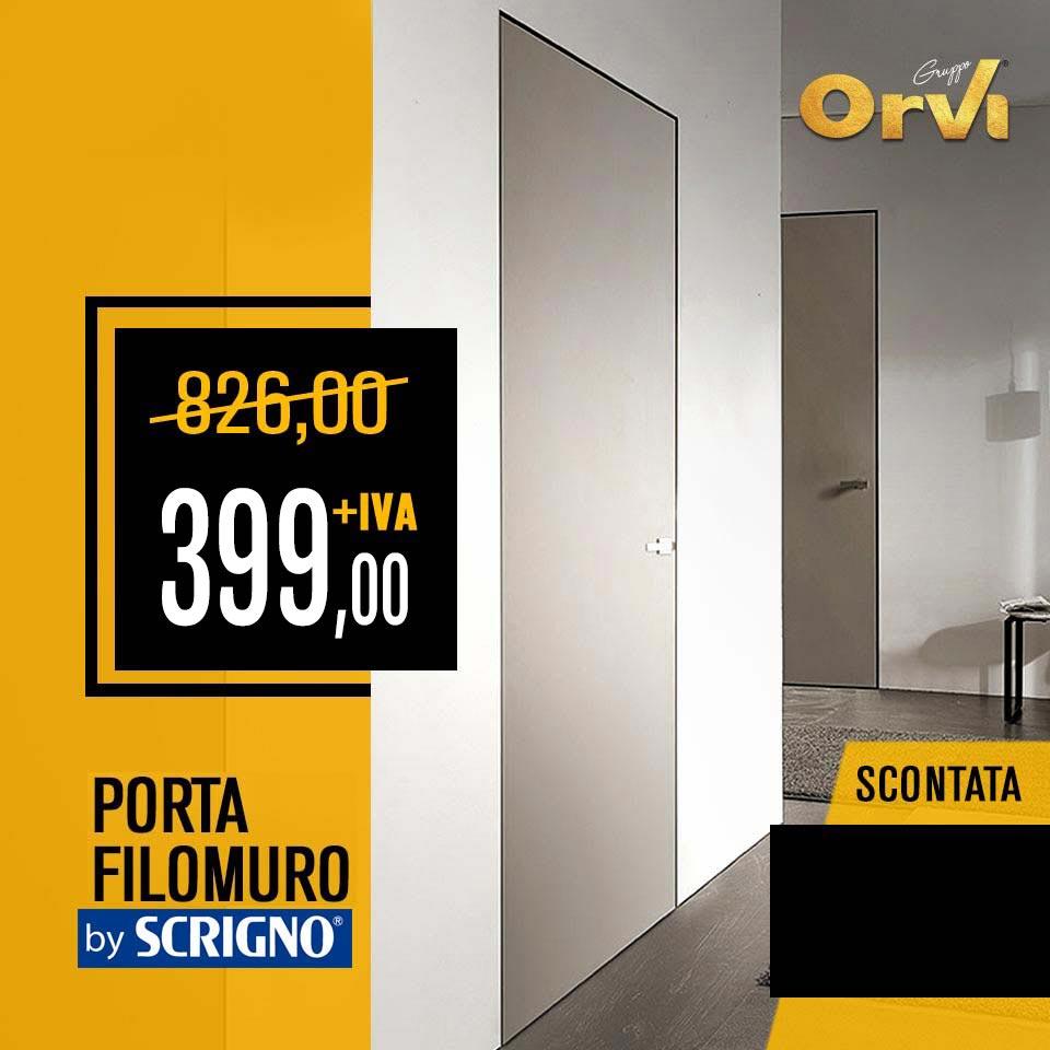 Porta filomuro by Scrigno in promo ad Euro 399,00 da Orvi Serramenti Roma